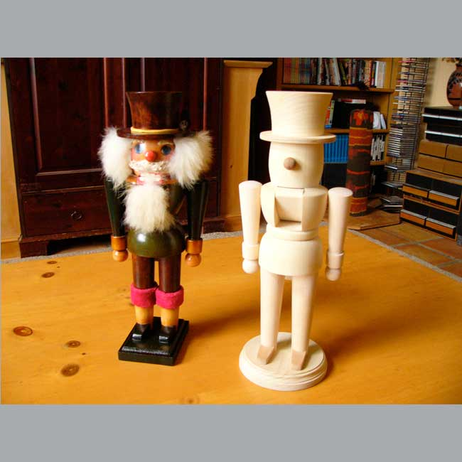 Nutcracker Pair Finished